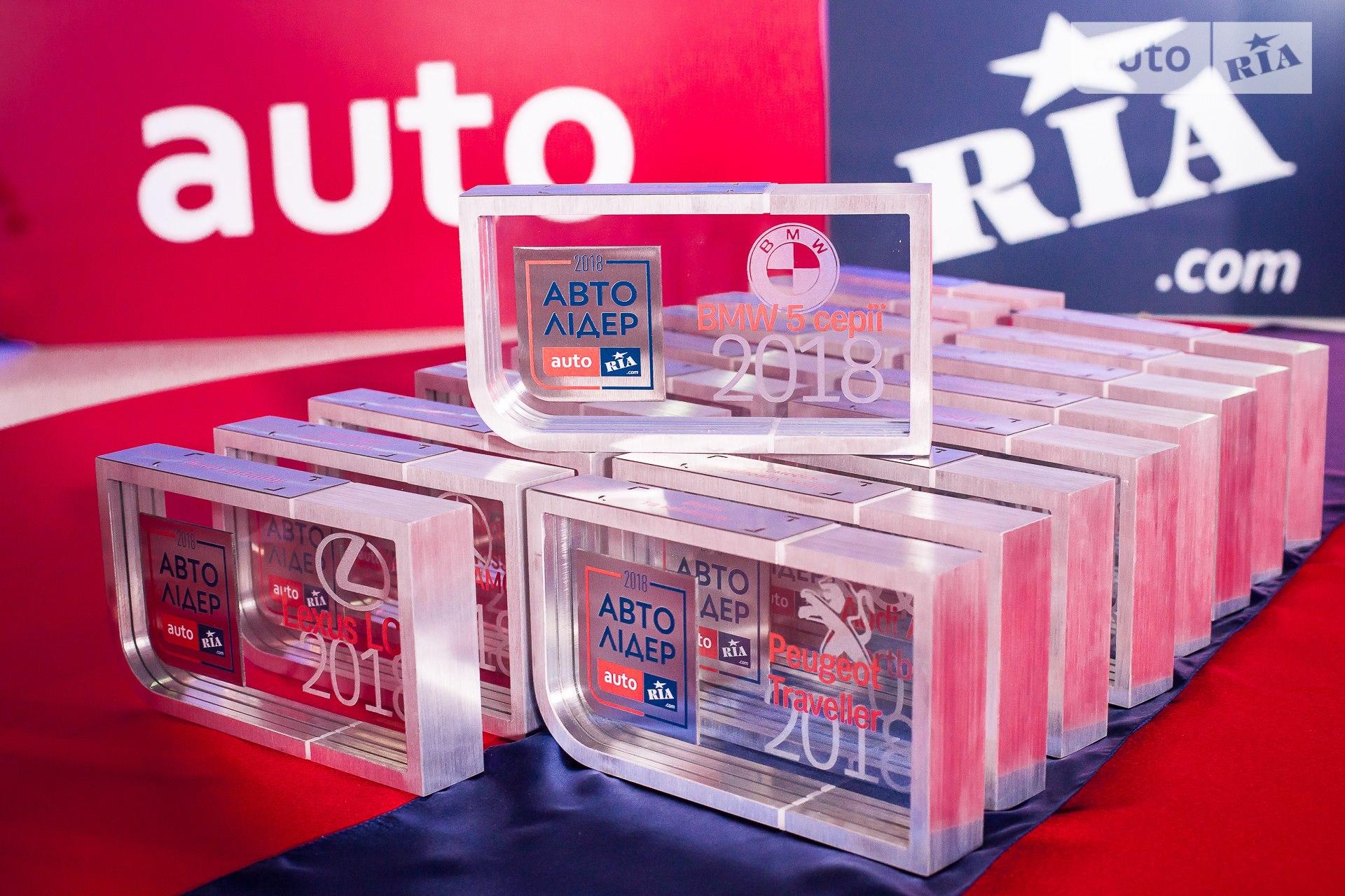 Изготовление наград на национальную премию Авто Лидер